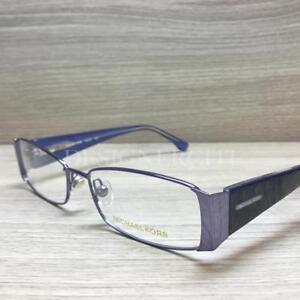 a691a9d0bee4 Michael Kors MK 307 Eyeglasses Metal Slate Blue 023 Authentic 53mm ...
