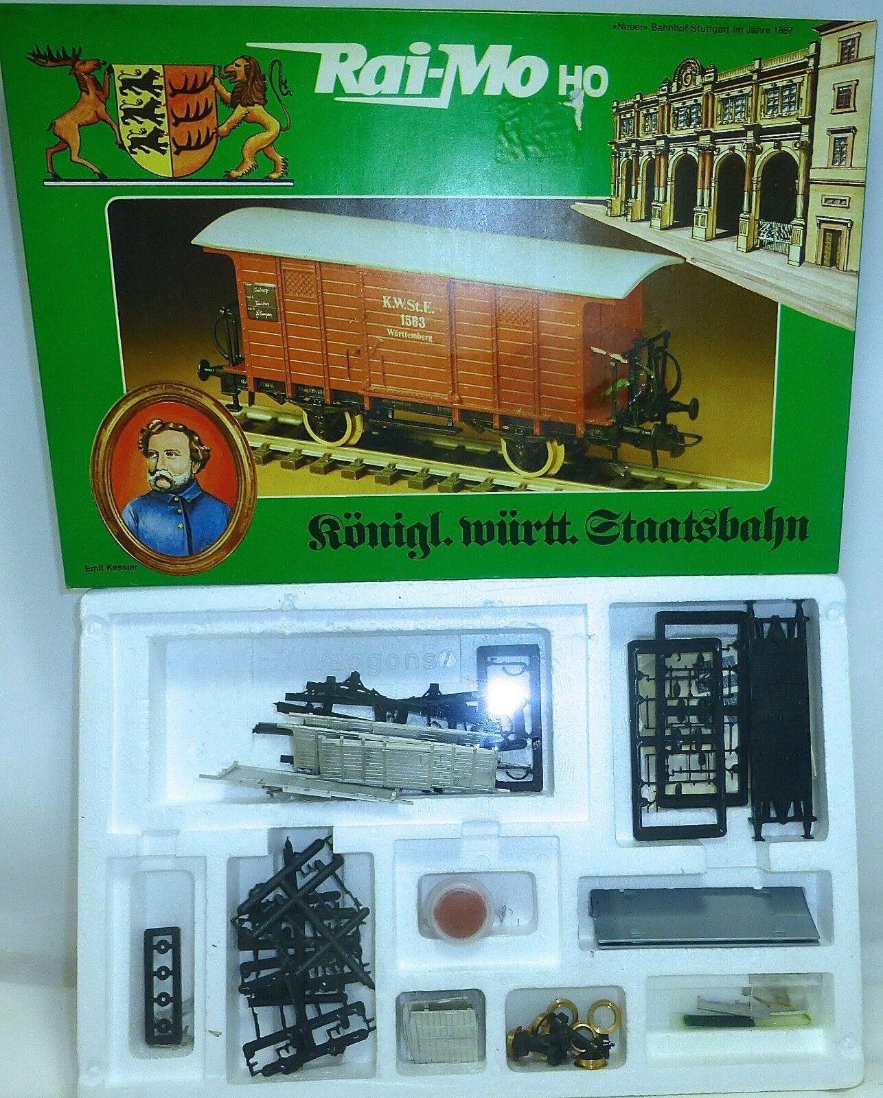 2 vagones h kwürttstsb kit ungebaut Raimo 200222 rai-mo OVP 1 87 Å