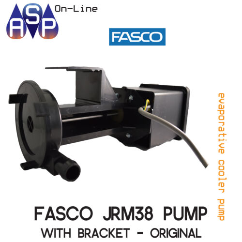 JRM38 PUMP GENUINE FASCO WITH BRACKET FOR BONAIRE EVAP. 6050812SP BOX OF 8