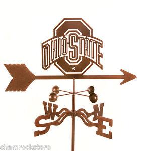 Ohio-State-University-Weathervane-Buckeyes-OSU-with-Choice-of-Mount