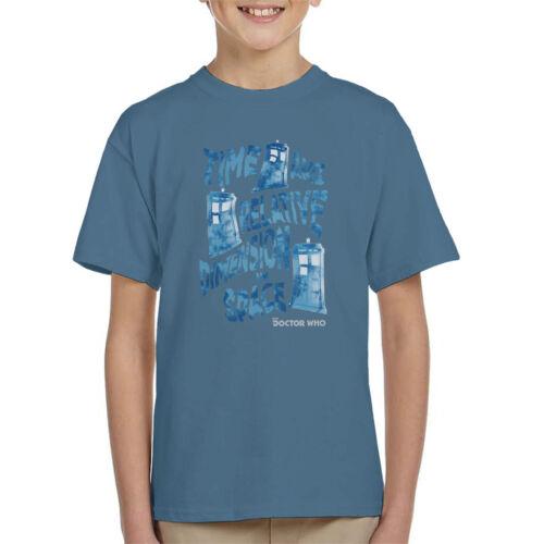 Doctor Who deformato Tardis Ragazzo T-shirt