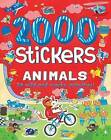 2000 Stickers Animals by Parragon Books Ltd (Paperback / softback, 2016)