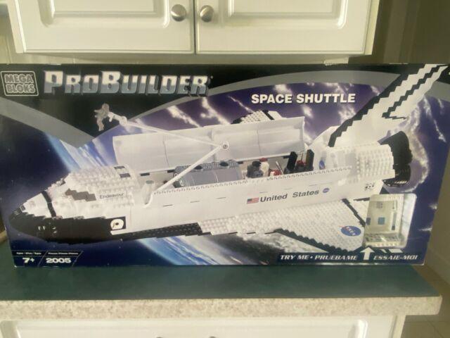 Mega Bloks Probuilder 9736 Space Shuttle Endeavour New & Factory Sealed