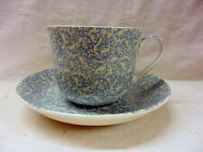 Large size breakfast cup and saucer in william Morris seedling design