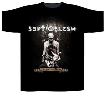 Septic Flesh /'Communion/' T-Shirt NEW /& OFFICIAL!