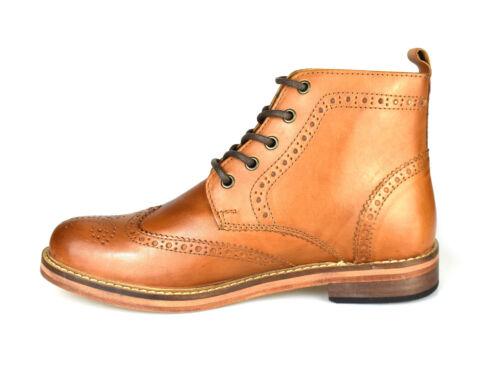 Claro Zapatos Clarendon Brogue Rojo Marrón Marrón Marrón qwOO7Ftxa