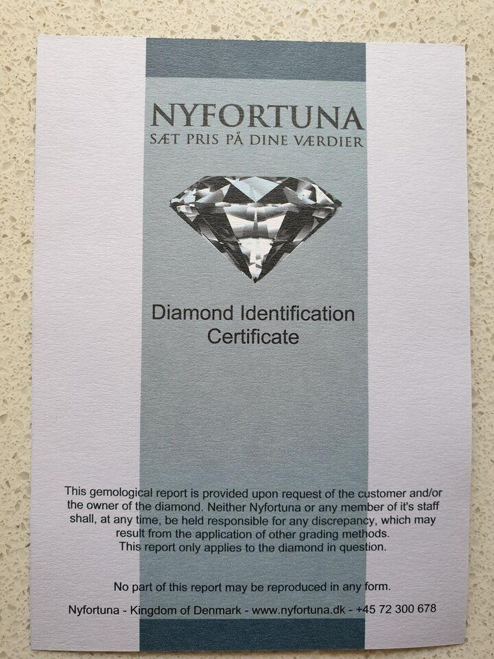 Andet smykke, diamant, 0.80 ct Crystal (J) P1