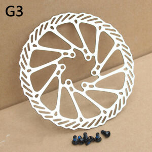 MTB-Mountain-Bike-Bicycle-Brake-Disc-Float-Pads-160-180mm-6-Bolt-Floaing-Rotors