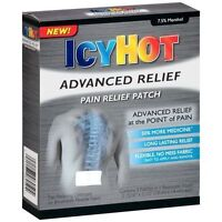 5 Pack - Icy Hot Advanced Pain Relief Patch 4 Each on sale