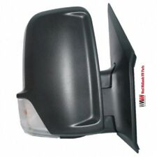 MERCEDES SPRINTER 2006-2013 BLACK MANUAL DOOR WING MIRROR DRIVERS SIDE RIGHT
