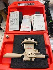 David White Lt6 900 8834 Meridian Transit Level In Case With Manual Amp Plumb Bob