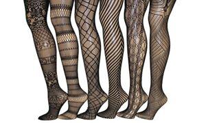 Frenchic-Fishnet-Crochet-Lace-Tights-Pantyhose-size-3X-4X-Style-2-pattern-4
