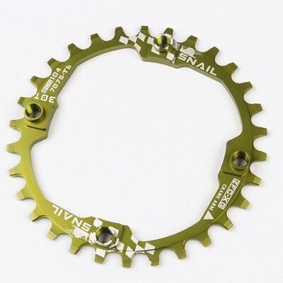 Snail Narrow Wide Chainring road XC MTB Bike Chain Ring BCD 104mm Round 30T