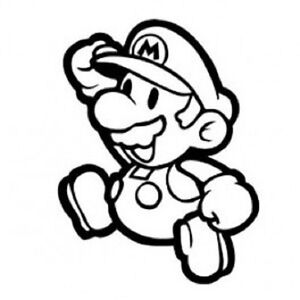 Super Mario Cool Funny Car Window Vinyl Decal Sticker Choose From - Vinyl decal stickers for cars