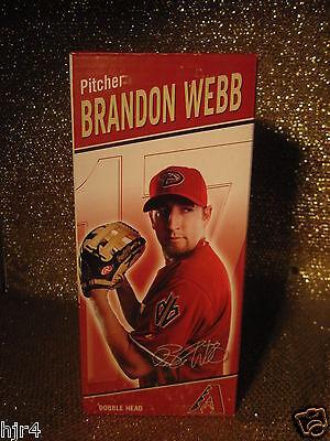 Brandon Webb 2007 Arizona Diamondbacks Dbacks Cy Junger Wackelkopf Von Der Konsumierenden öFfentlichkeit Hoch Gelobt Und GeschäTzt Zu Werden Fanartikel Sport