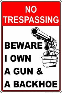 """Private Driveway No Trespassing Warning Security Sign 6/""""x12/"""" Brand New Gift"""
