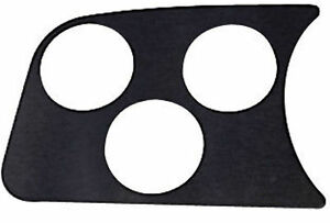 BLACK VW BUG BAJA BEETLE DUNE BUGGY EMPI 14-1005 1-HOLE GAUGE PANEL