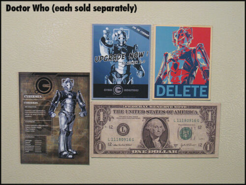 """Fridge Fun Refrigerator Magnet DOCTOR WHO /""""900 Years Who Quote Important/"""" Dr"""
