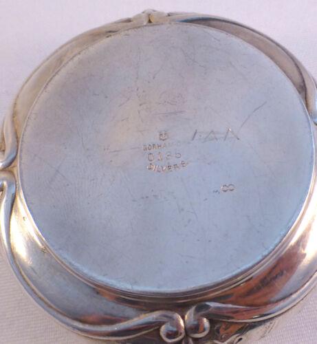 s Gorham/'s Royal Pattern Silverplate Master Salt Cellar /& Spoon Set -Mono AF