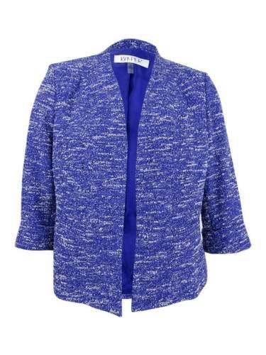 Kasper Women/'s Tweed Blazer