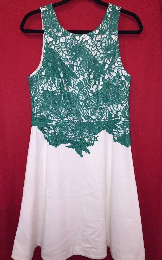 NWT Anthropologie Arbor Lace Lace Lace Dress by Moulinette Soeurs Size 12P 27e14d
