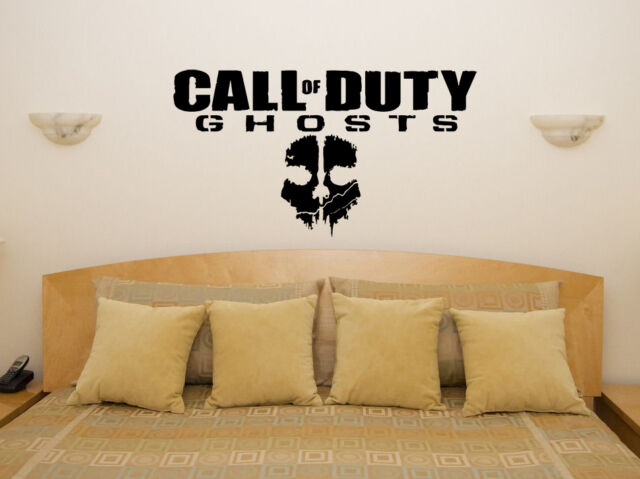 Call of Duty Ghosts xbox ps3 Bedroom Decal Wall Sticker Picture Black Ops Game