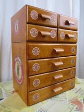 Sajou Fil au Chinois Wooden Haberdashery Chest Sewing Box- Full Set