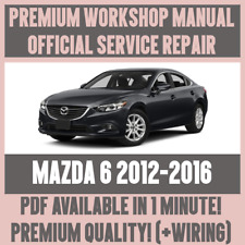 factory workshop service repair manual mazda 6 2008 2011 wiring ebay rh ebay co uk 2010 Mazda 6 Intake Manifold Mazda CX-5