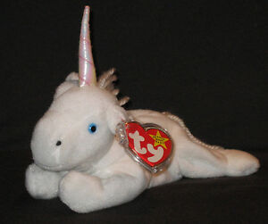 9de88a133fb TY MYSTIC w  COARSE MANE   IRIDESCENT HORN BEANIE BABY - MINT with ...