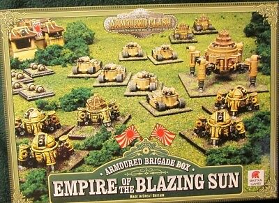 Spartan Games Armoured Clash Brigade Box Empire Of Blazing Sun