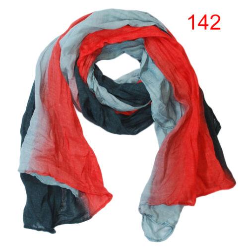 Damenschal Winterschal Halstuch Schal Tuch dezente Transparenz Knitter-Optik