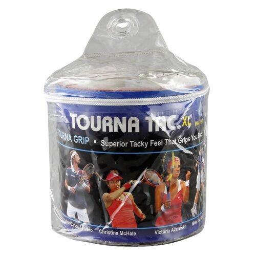 Tourna Tac XL - Black - 30 Pack Overgrip Tour Travel Pouch Overgrips Tennis