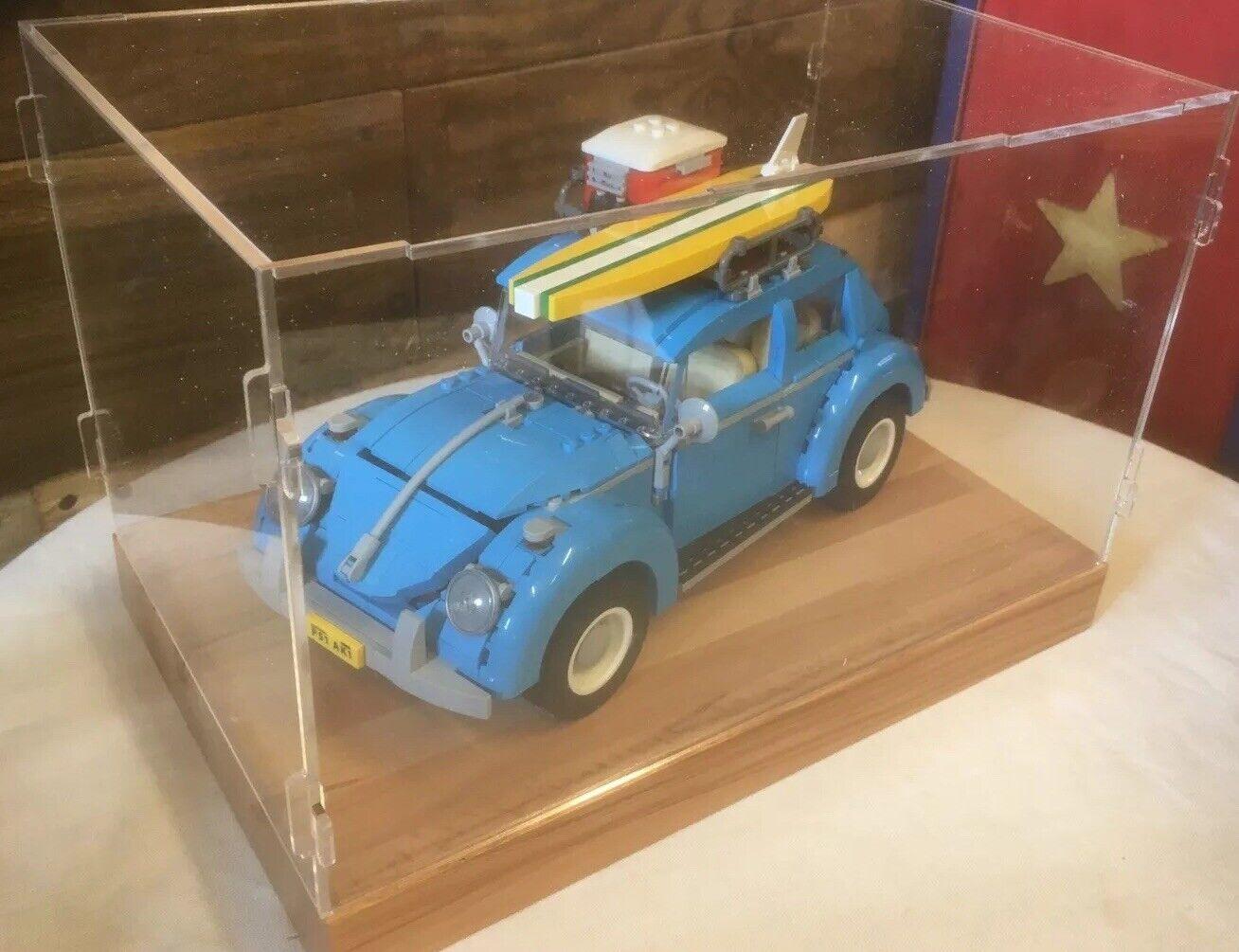 Deluxe HardHolz & Clear Acrylic zeigen Fall for LEGO VW Beetle