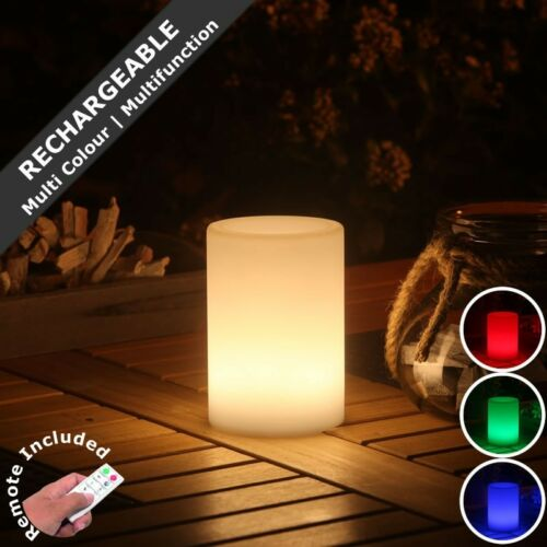 SMOOZ TUBE Multi Colour//Function LED Garden Table Light