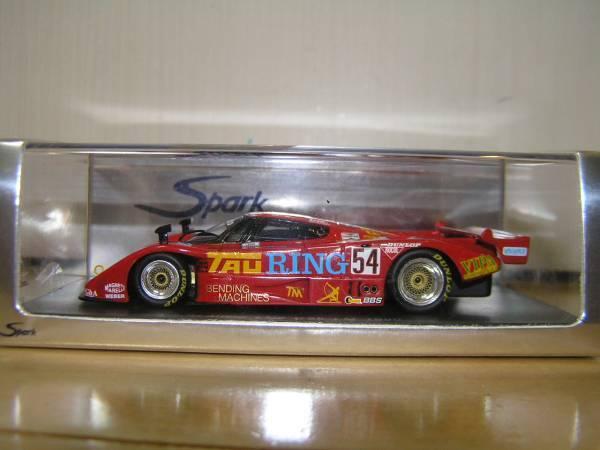 Spark 1 43 Lancia LC2  54 Le Mans 1990 S0659