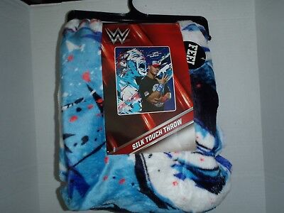 John Cena HD Silk Touch Throw Blanket WWE Multi Color 50 x 60