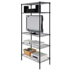 heavy duty 72 x36 x18 wire shelving rack 5 tier layer. Black Bedroom Furniture Sets. Home Design Ideas
