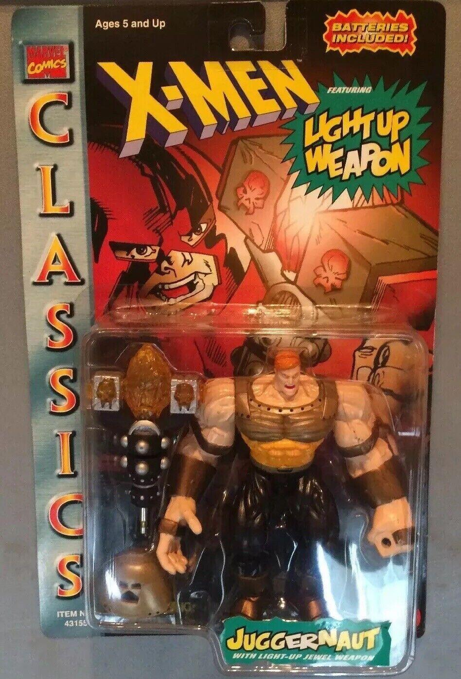 1996-Marvel classeics-RULLO COMPRESSORE cifra X-essi-Light Up ARMA ⭐ VINTAGE ⭐