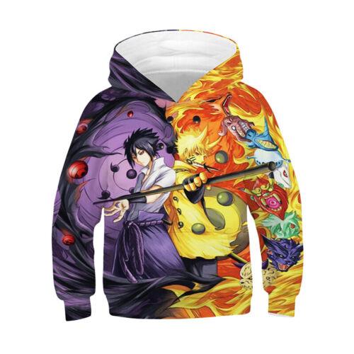 Kids 3D Print Anime Dragon Ball Z Cartoon Boys Girl Hoodie Sweatshirt Jumper Top