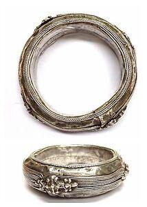 Das Bild wird geladen Massiver-Armreif-925er-Silber-Silberarmreif-aus-Afrika 3a98a1ed12