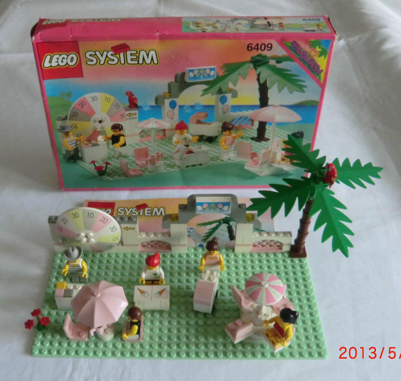 Lego System 6409 Freizeitpark  mit BA und OVP super rar siehe Foto