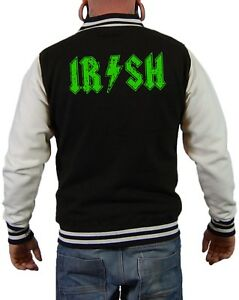 Musik Day Fun Iren Urlaub Jacke Irland Kleeblatt Festival Irish Patrick Sankt zIfwyU