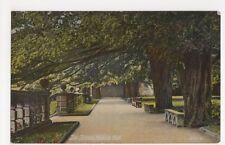 The Terrace Haddon Hall, British Mirror Series Postcard, B185