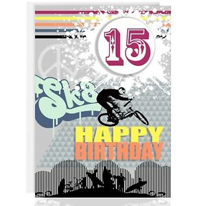 Image Is Loading HAPPY BIRTHDAY GREETING CARD Personalise Name Amp Age