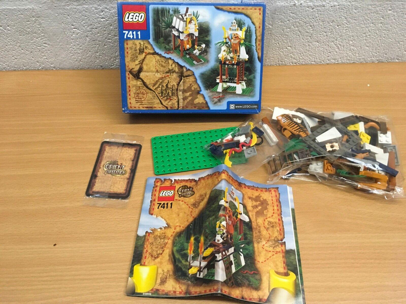 LEGO 7411 ORIENT EXPEDITION EXPEDITION EXPEDITION TYGURAH'S ROAR NEW 464e63
