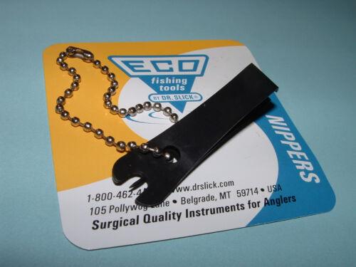 "ECO Dr Slick Nipper Black Stainless Steel Fishing Clipper Pin 2/"" ENPB2 Nippers"