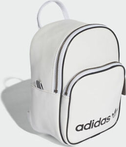 65096ccd0a NEW adidas Originals Unisex PHO LEATHER retro MINI BACK PACK white ...