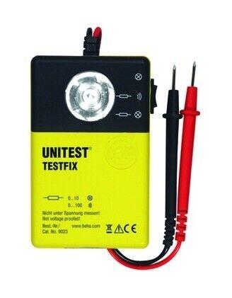 TESTFIX Beha-Amprobe Durchgangsprüfer optisch//akustisch 100Ohm..