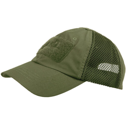 Helikon Baseball Vent Cap Tactical Mens Summer Hunting Patrol Hat Olive Green