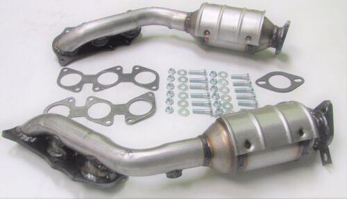 2007-2009 Toyota FJ Cruiser 4.0L Both D//S /& P//S Manifold Catalytic Converters